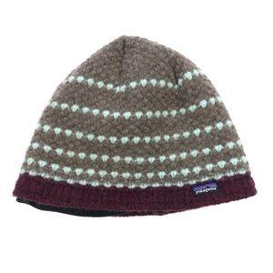 Patagonia Fleece Lined Wool Blend Beanie Hat